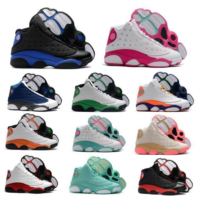 13 13S أحذية كرة السلة Jumpman فلينت عوج السنة الصينية الجديدة ملعب لدت شيكاغو مباراة فاصلة XIII 2020 الجزيرة الخضراء رجل إمرأة حذاء رياضة سلال