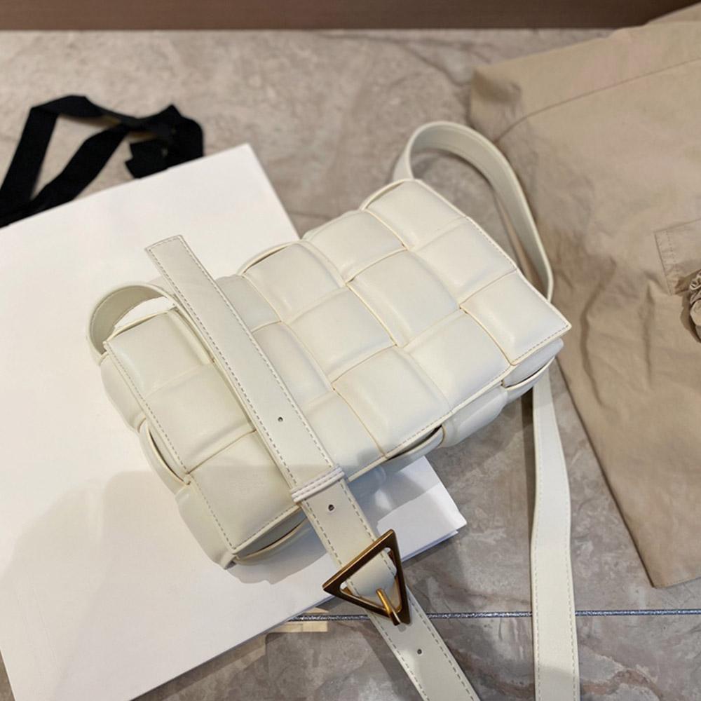 Couro Real Bandoleira Sacos clássicos bolsas mensageiro sacos de alta qualidade para mulheres bolsa de ombro mulheres boutique saco de compras 26cm