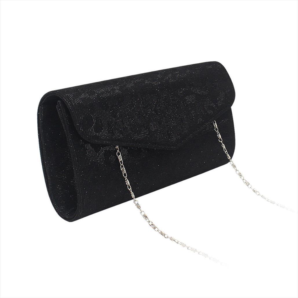 sacchetti di Crossbody per le donne Moda Minaudière Paillettes Borse in pelle Cocktail Bag sacchetti del telefono Evening Bag Bolso de mujer Au13