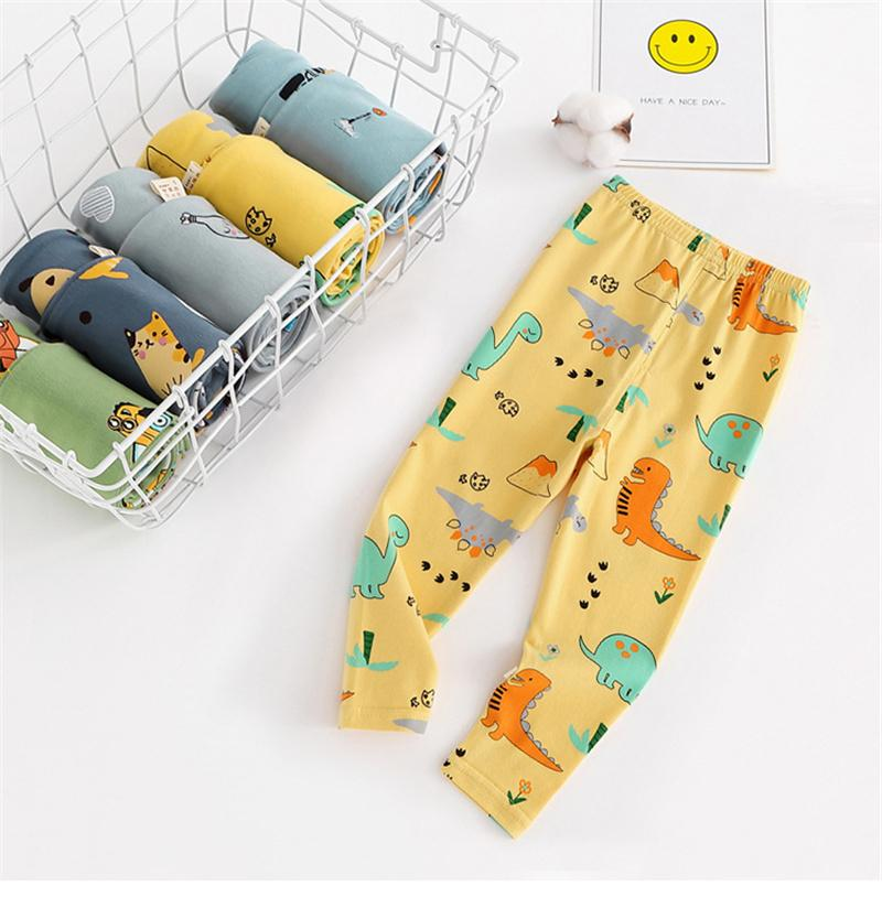 Kinder Pyjama Hosen Lange Hose Jungen und Mädchen Kinder und Kinder Reine Baumwolle Einzelne Gestreifte Baumwollhose Baby-Pyjamas-Höschen