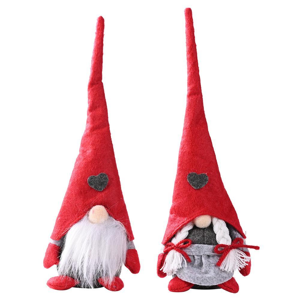 Нью-рождественские украшения лес старый человек прекрасный стоящий кукла Рождество злодей безликий кукла ювелирные изделия 28 * 8 см