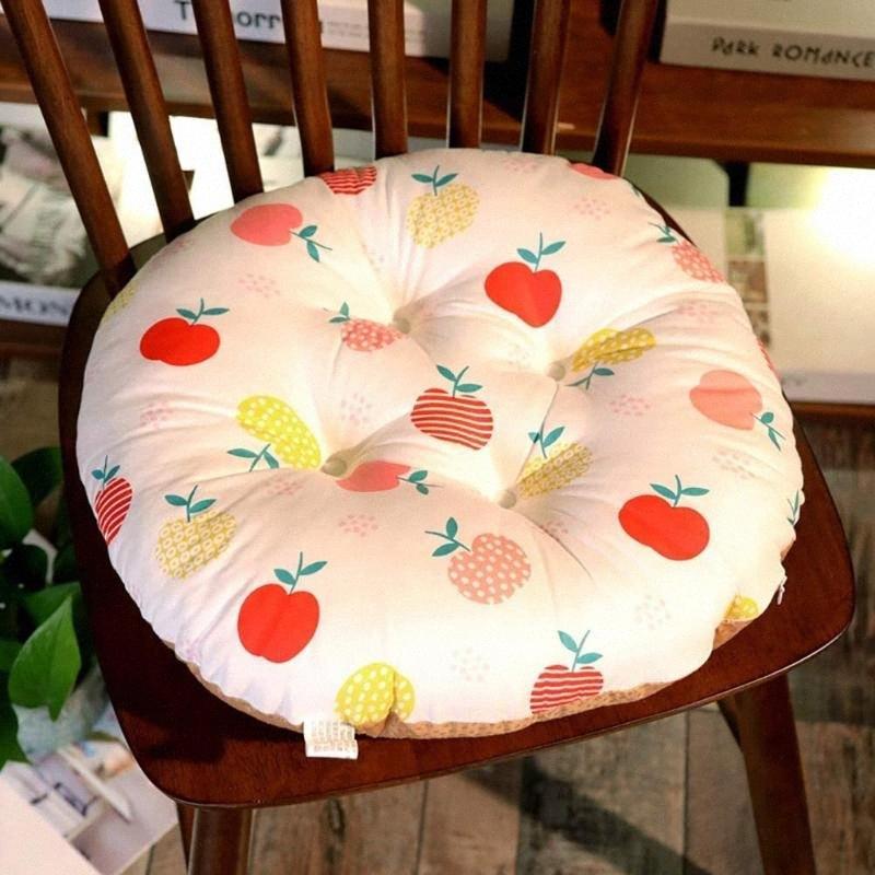 1pcs Asiento Chiar Cojín Impreso Oficina Silla de la barra del asiento trasero de cojines del sofá almohadilla de la silla de las nalgas del hogar del amortiguador decoración de la oficina krij #