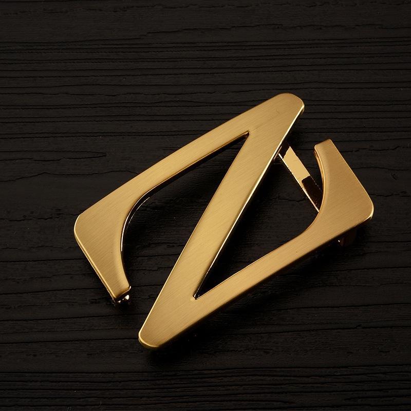 I-forme classique cIPhC I en forme de ceinture smoothleather lettre Z beltgalvanized alliage classique smoot ceinture de ceinture tête de taille à la mode fashio xqfR