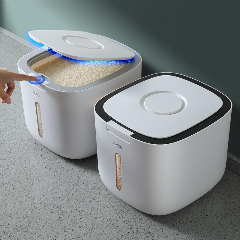 20201031 barril de arroz, prova de insetos e tanque de armazenamento de caixa selada à prova de umidade, caixa de armazenamento doméstico