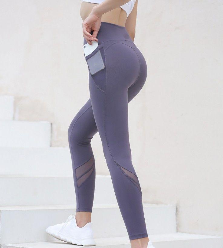 طماق الملابس الخريف والشتاء السيدات الرياضة اللياقة البدنية الجري اليوغا الرقص التدريب عارية ضيق سراويل تنفس