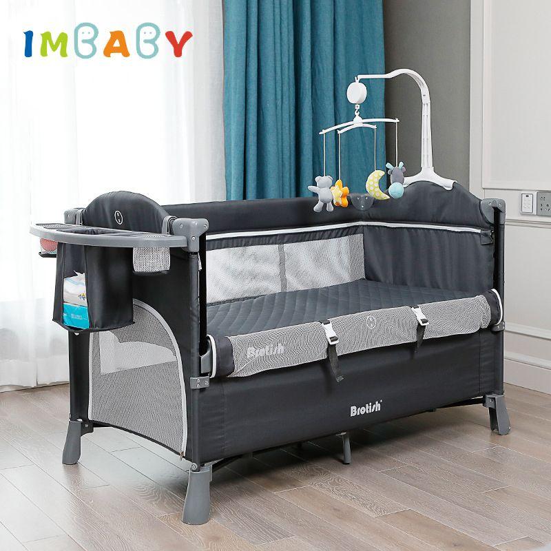 Cama de bebé para recién nacido los niños Cuna Silla plegable portátil sofá muebles multifunción Juego Cuna Cuna Infantil Nido 0-6 Año 1023