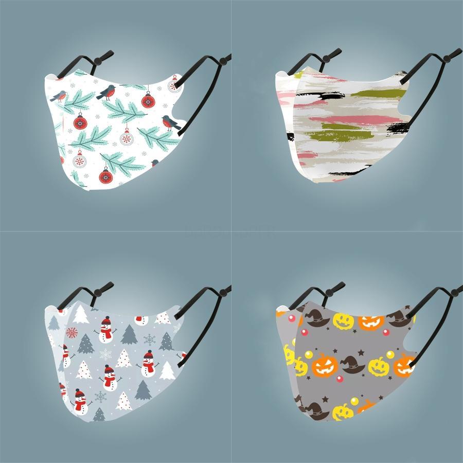 Máscaras de la marca de moda unisex Cara lavable y transpirable Máscara Máscaras diseñador de moda Printwindproof anti-polvo de ciclo # 655