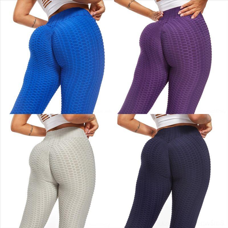 Gbfj Donne Pantaloni Yoga Pantaloni Alti Lifting Lifting Hips Donna Yoga Pant Pantalone Petite Traspirante Fit Slim Size
