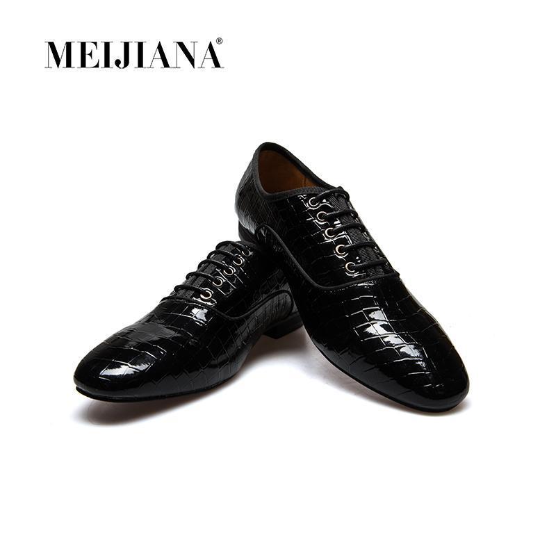 드레스 신발 자연 암소 가죽 남성 Meijiana 브랜드 비즈니스 옥스포드