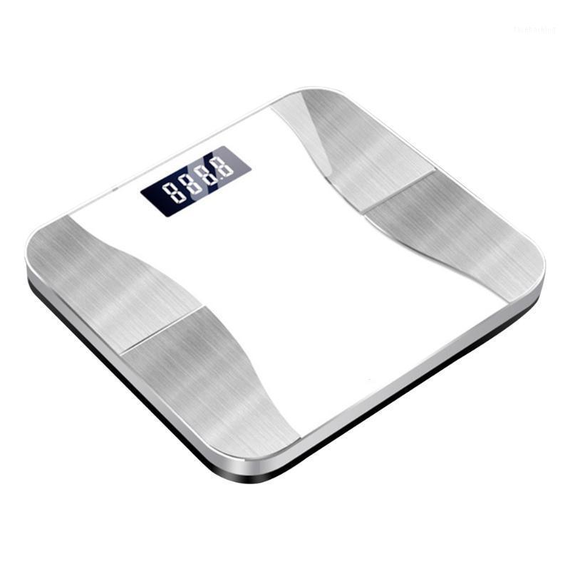 With App BMI USB Rechargeable Weight Smart Digital Bluetooth High Load Health Monitoring Bathroom Body Fat Scale 180kg Bone Mass1