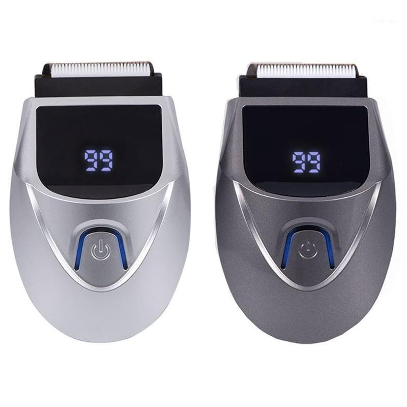 Razor Pro Electric Pro Electric Foil Shaver Razor para Hombres Barba Trimmer Recargable Pelo Clipper Dual Propósito 1