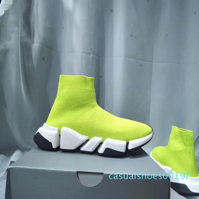 HIZ 2.0 Gri Çorap Ayakkabı Erkekler Kadınlar Hız Eğitmen Tasarımcı Sneakers Hız Eğitmen Popüler Çorap Irk Ayakkabı Moda Gri Çorap Eğitmenler 2021 c19