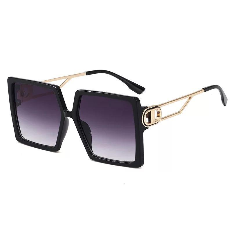 Sunglasses Women Trend Big Square Frame Sun Glasses Designer Oversized Shade 8 Colors Wholesale