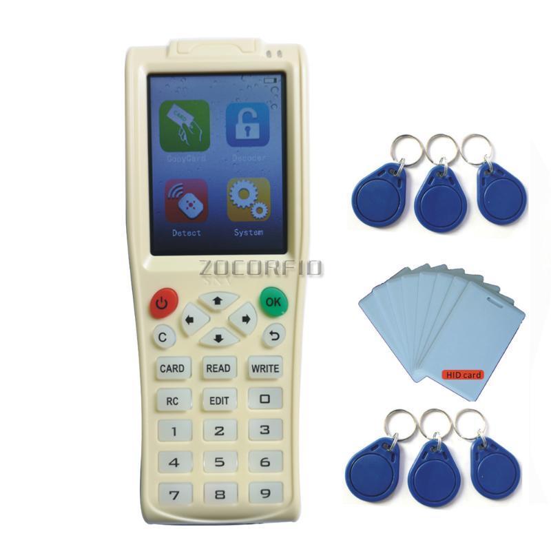 New iCopy 8 RFID Copiadora Duplicator iCopy8 com Full Decode Função Smart Card Key Máquina de RFID NFC Copier IC ID escritor leitor