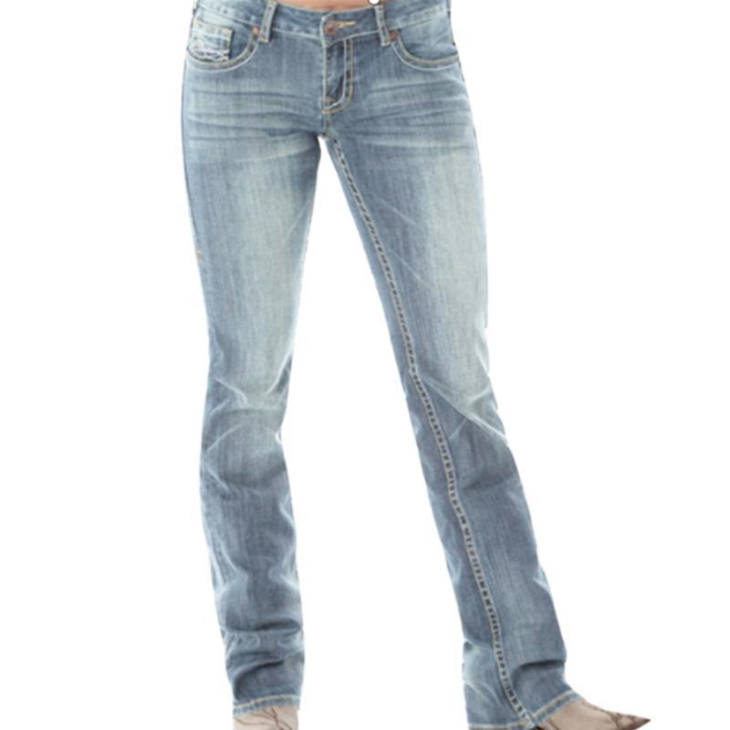 VICABO Mulheres jeans reta Ladies Inverno Leg Jeans New Outono Longo Denim Pants mulheres básicas skinny slim Calças