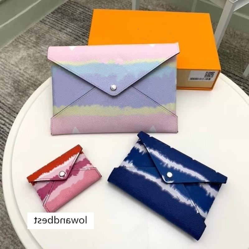 kirigami escale 69119 코팅 컬렉션 3 S 스타일 카드 넥타이 효과 M 캔버스 Pochette 태블릿 여름 여권 봉투 파우치 irjae