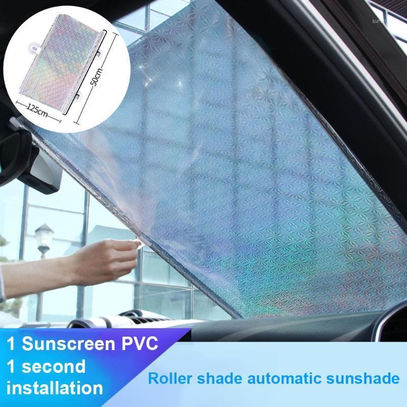 Araba Şemsiye Dayanıklı Katlanabilir Otomatik Cam Güneşlik Araba Sun Visor Ön Pencere Kapak Reflektör SUV Kamyonlar Için Cars1