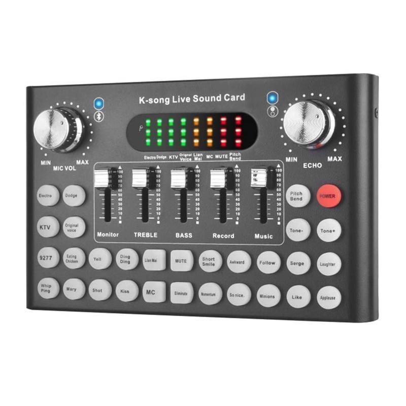 DJ Mixer, Canlı Yayın, Box o Yayını Kaydı Çoklu Ses Etkisi o Canlı Ses Kartı Ses Dönüştürücü,