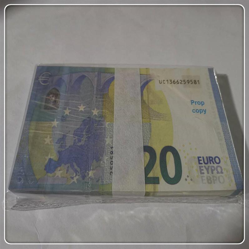 Билет IMSFG TOY LE20-40 PROP Faux Banknote Реалистичные 20 2021 реквизит Валюта Детская копия Заготовка Hot Bar Bar Подарок Chkck
