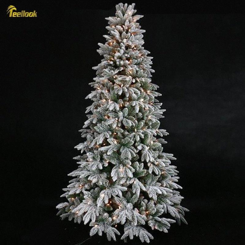 Teellook 1.2m 3.0m Aydınlık akın Noel ağacı Noel AVM Otel Festival Dekorasyon Satış Noel Dekorasyon 7TXM #