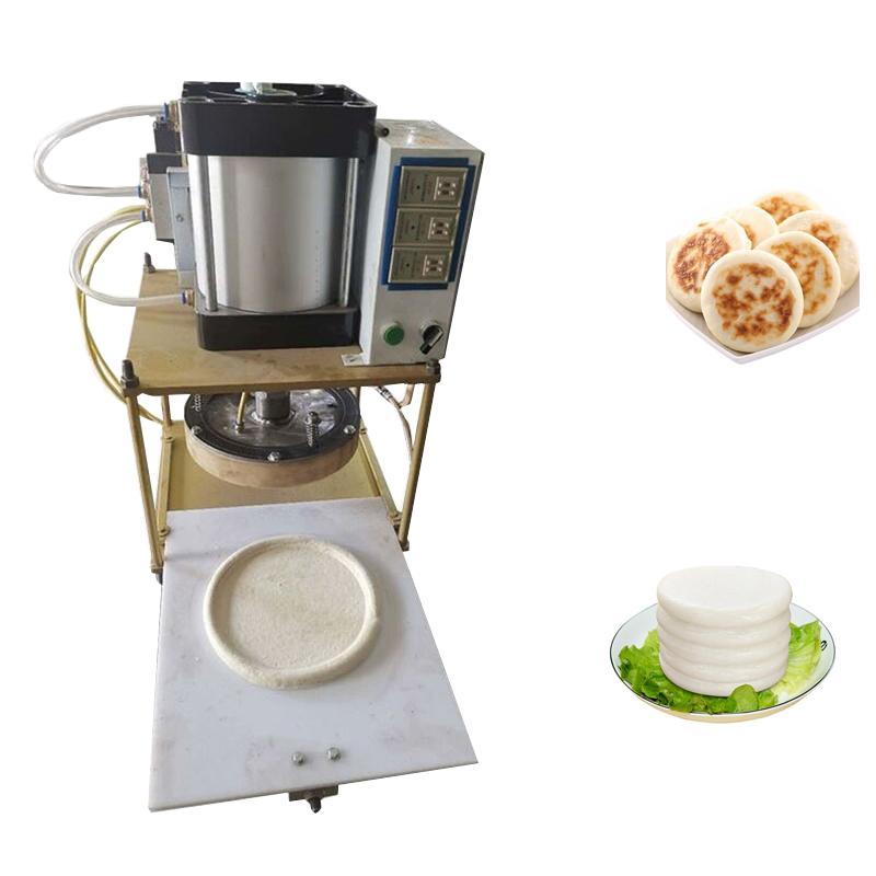 Pizzateigpresse Maschine Teigblatt Pizzateig Pressemaschine Chapati Pressmaschine Gebäck-Pastressresser 1-30pcs / min