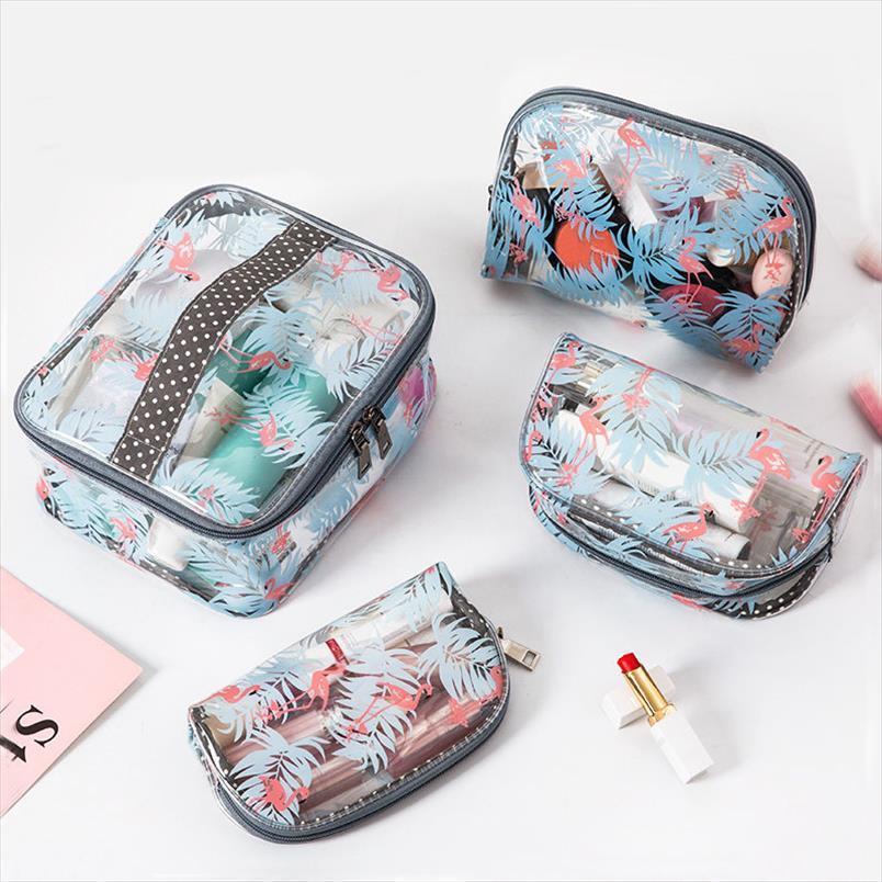 Организатор большой багажник прозрачный макияж сумка из ПВХ водонепроницаемый прозрачный Бучник путешествия косметические специальные места хранения