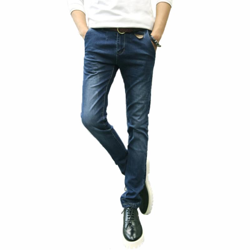 2020 Freies Verschiffen-Qualitäts-Männer Jeans Slim Fit Bleistift Hose Herren Designermarken Stretch Jeans Hose Männer DL 58