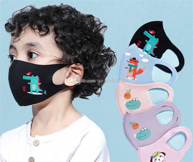 Fashion Design Cartoon 3D maschera viso per bambini cover della bocca PM2.5 Anti-polvere bocca maschera respiratore respiratore antipolvere lavabile riutilizzabile maschere per viso