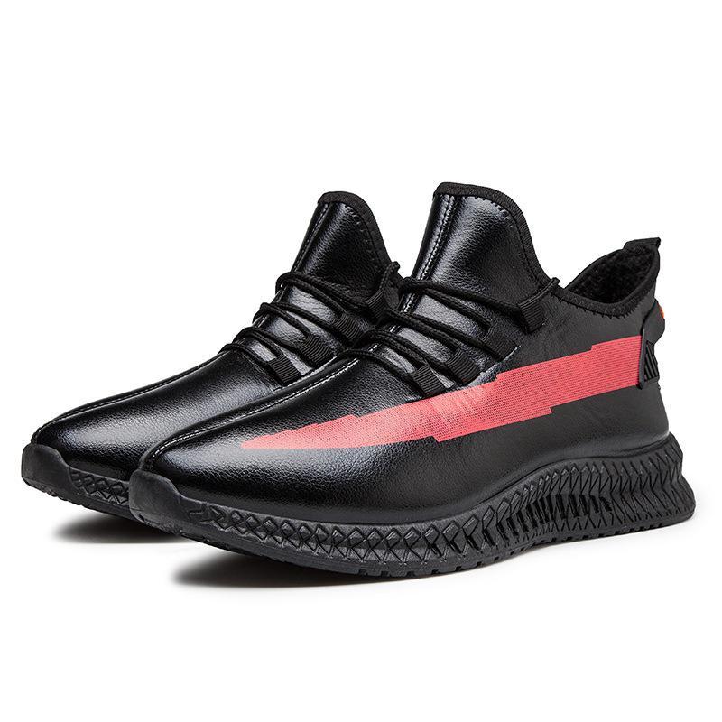 2020 осень и зима новый Спортивная обувь All-Matching вскользь хлопка мягкой обуви Корейский мужская мода обувь