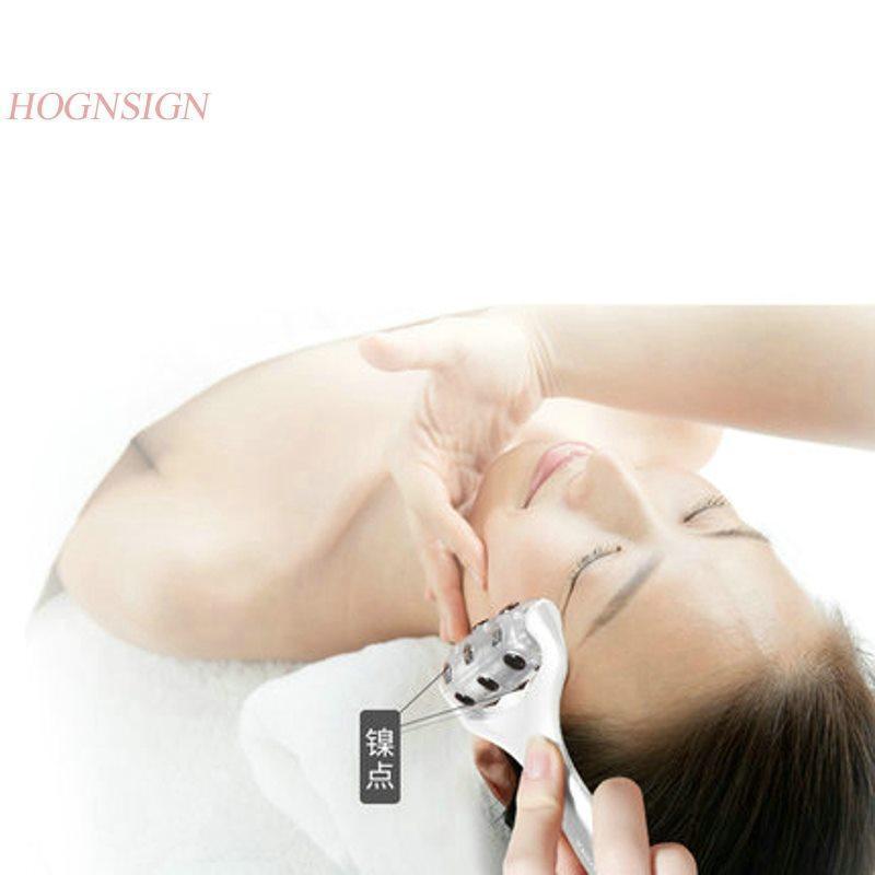 vermelho beleza luz instrumento massageador de alta qualidade para elevação de cara V cara fina duplo queixo Lifting facial manual do endurecimento luz vermelha