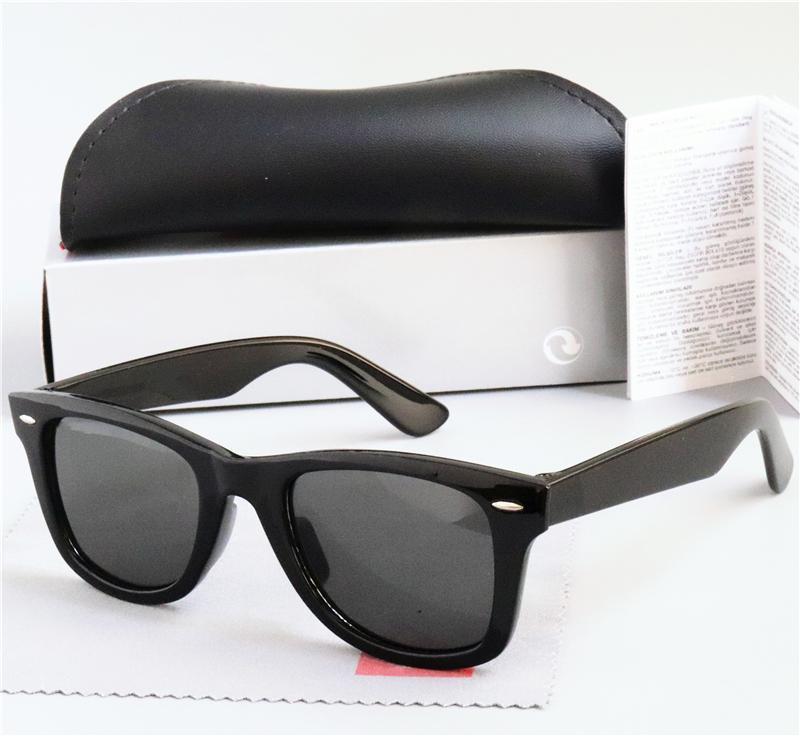 Alta calidad Nueva lente polarizada Gafas de sol Vintage Piloto UV400 Protección Hombres Mujeres Gafas de sol EyeGlasses de tendencia de moda con caja de caja 2140
