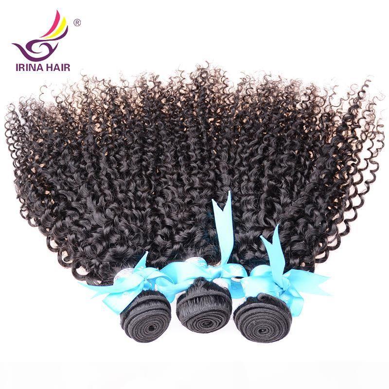 2017 nouvelle arrivée bon marché cheveux vierge péruvien kinky bouclés 3 paquets 100% non transformé vierges extensions de cheveux 8-30 pouces couleur naturelle