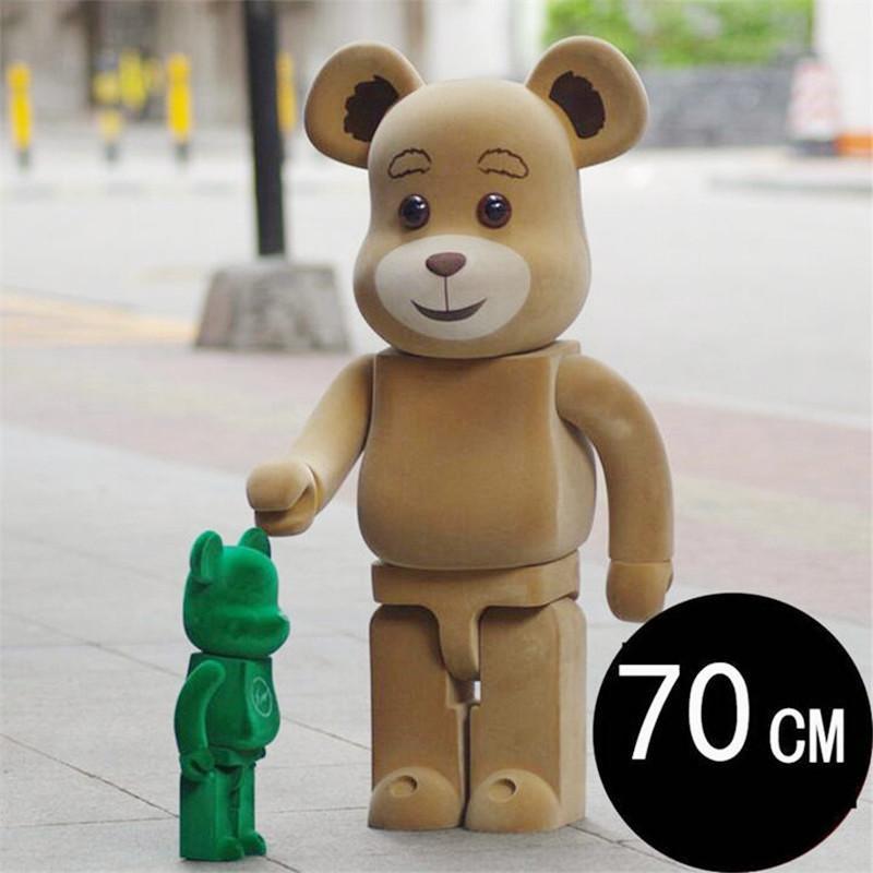 Top 1000% 70 cm Bearbrick Be @ rbrick Lady di lusso e una varietà di tipi ch art figura figura bambola in PVC collezione modello decorazione della stanza dei bambini regalo dei bambini