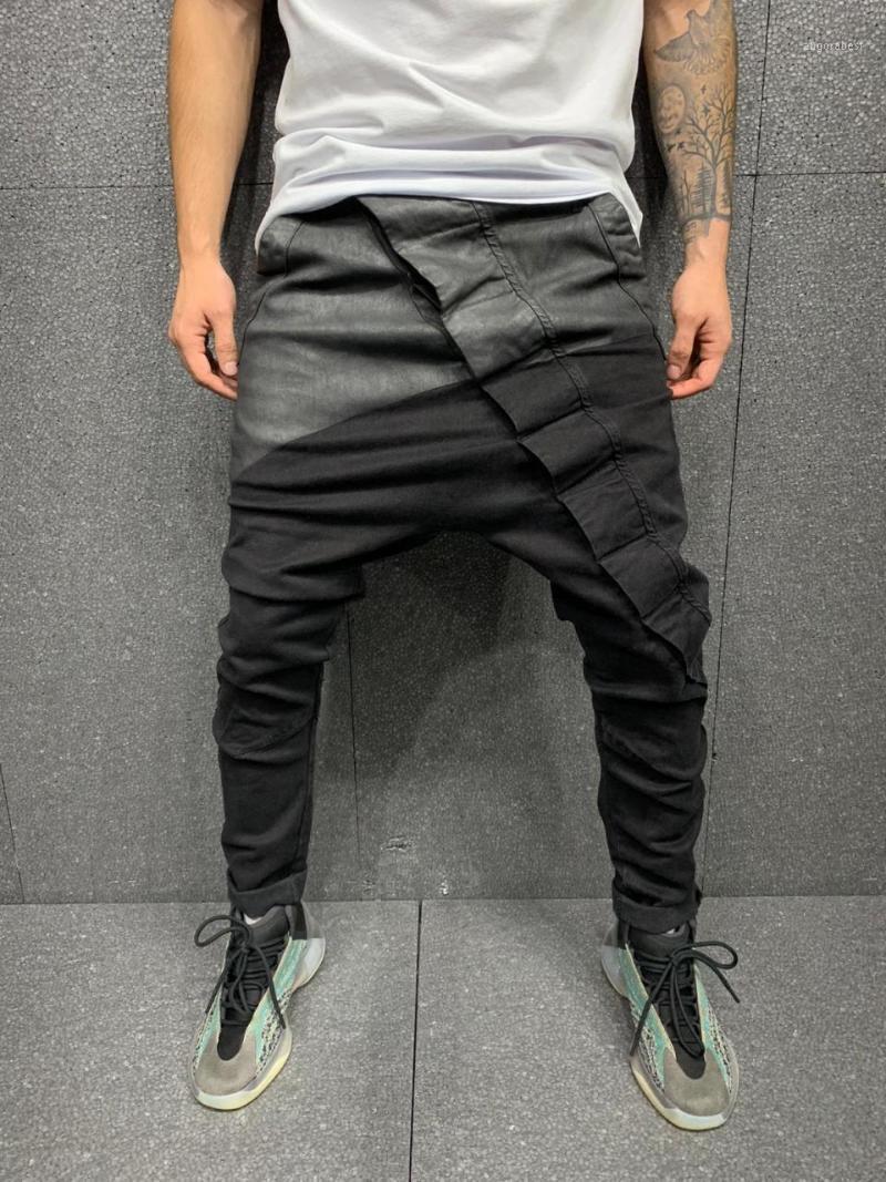 Grey SIMETRY Baggy Streetwear Denim Denim Jeans1
