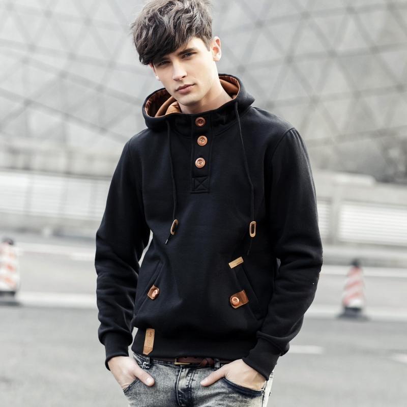 brand Sweatshirt Men Hoodies Winter Solid Hoodie Mens Hip Hop Coat Pullover Men's Casual brand man clothes Tracksuits Masculino