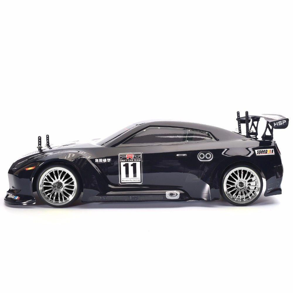 HSP 94102 RC CARRO 4WD 1:10 na estrada Touring Racing Dois Velocidade Drift Veículo Brinquedos 4x4 Nitro Gás Power Alta Velocidade Controle Remoto Carro