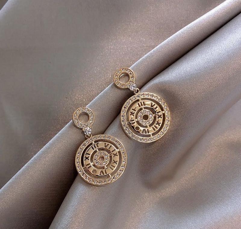Takı Kadın Küpe veya Toptan Gümüş Erkekler Için Gümüş Kristal 925 Gümüş Küpe Kadınlar Küçük Moda Saplama Jllfg FFSHOP2001