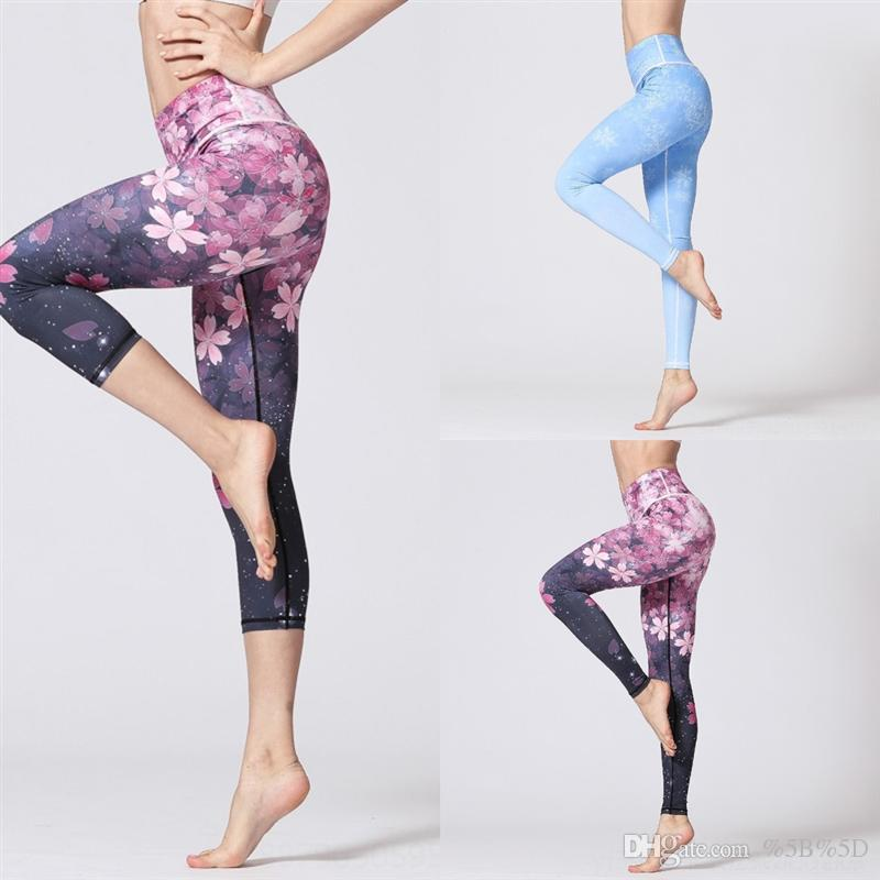 7pt Elastic Fitness Legging Super High Pants Classico Nudo Stretto Pantalone yoga per donna Plus Wyplosz Petite Yoga Vita Allenamento energetico