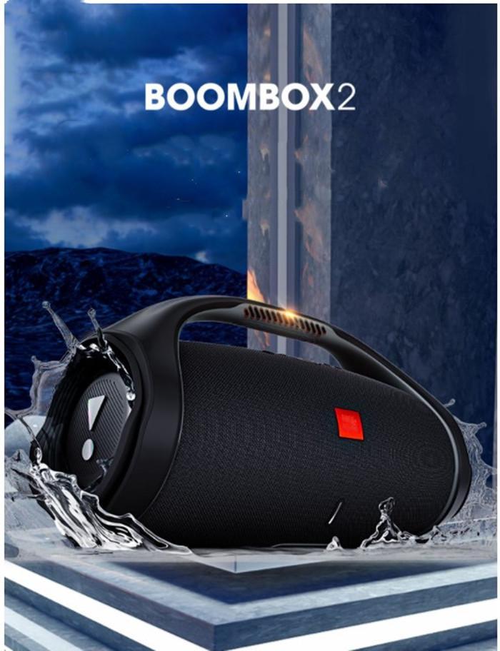 Altavoz de Bluetooth inalámbrico portátil BoomBox 60W Sound Sound Sound Impermeable Xtreme para viajes al aire libre Deportes de interior Audio de Audio