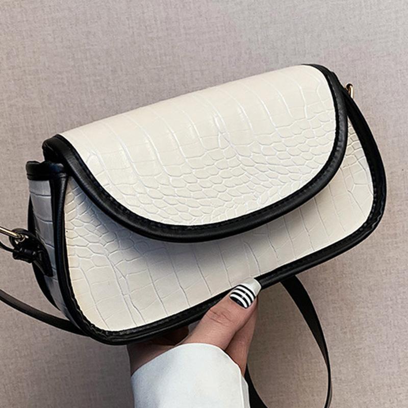 Crocodile Messenger Modèle pour Handbody Sac à main Épaule 2021 Cuir Femmes FLAP Designer Femme Sacs Simple Sacs Voyage PU Sac RCIXJ