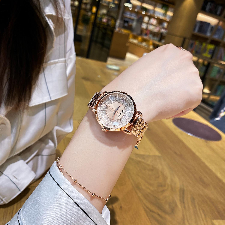 Sterne über den ganzen Himmel Licht kleine Stil Uhr der Frauen einfaches Temperament Atmosphäre Top 10 Luxus-Uhren für Frauen