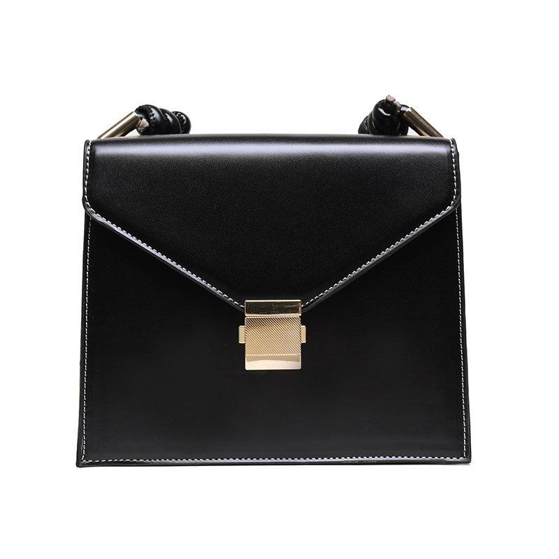 HBP Shoulder Bag Solid Color Handbag Purse Magetic Hasp Flap Messenger Bags Girls Wallet Ladies Tote bag