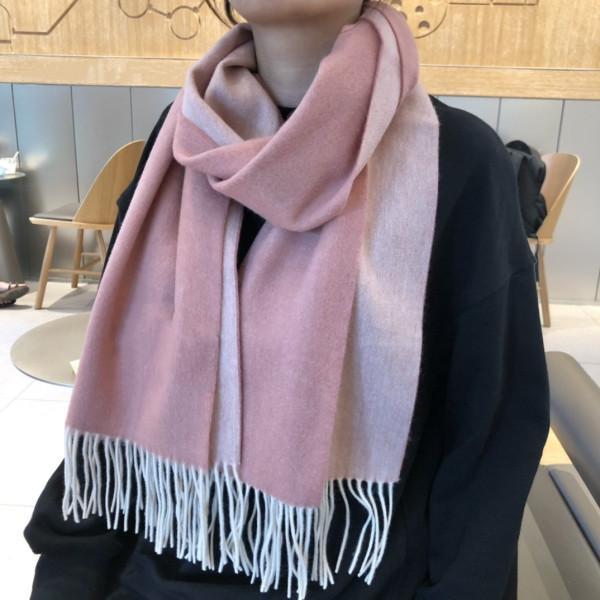 2020 neue Modedesigner-Schal für Männer und Frauen mit luxuriösem Kaschmir gestaltet. Der vollständige Satz von qualitativ hochwertigen Verpackung 200 * 35cm