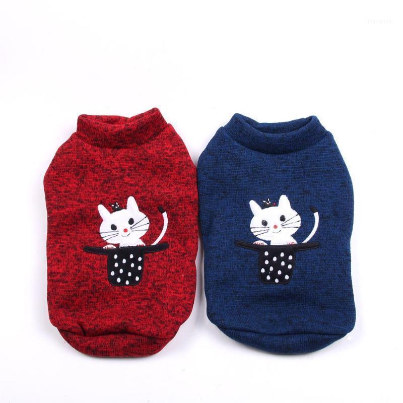 Perro gato con capucha suéter kitten diseño mascota cachorro abrigo chaqueta primavera / ropa de otoño ropa 2 colours1