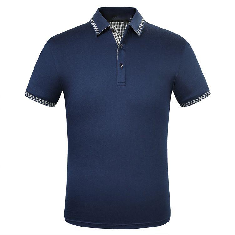 Brand New High Street Designer Mens Polos Fashion Casual Men Polo Ricamo Bee Snake Polo T Shirt