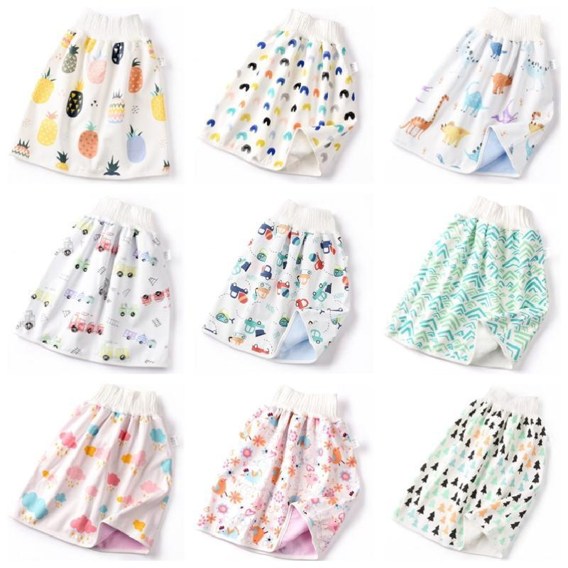 New Baby Diaper Skirt Infant Waterproof Toilet Training Pants Anti-Urine Bed Wetting Night Urine Artifact Children Cotton Diaper1