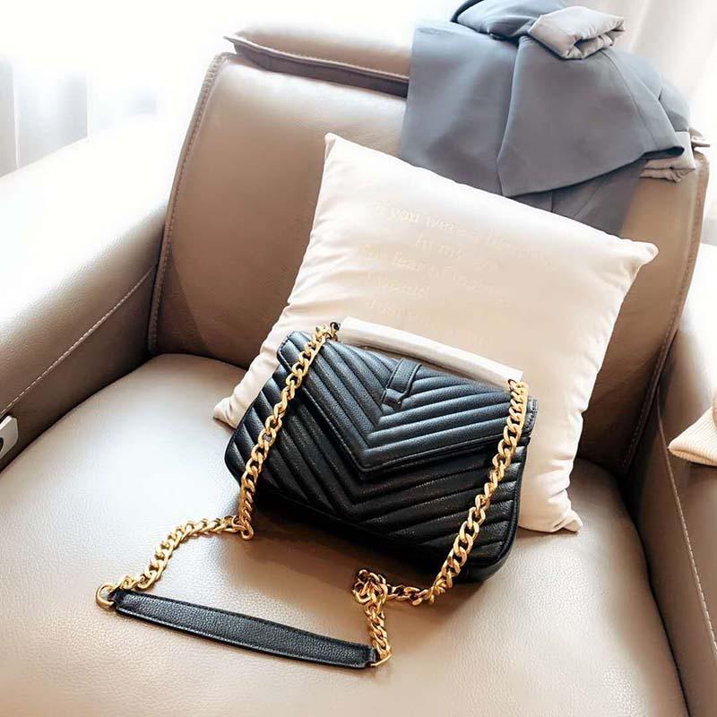 2020 حار بيع سيدة سلسلة الكلاسيكية رسول حقيبة العصرية أزياء ذات جودة عالية جودة عالية حقيبة جلدية الكتف سيدة المحمولة حقيبة التسوق