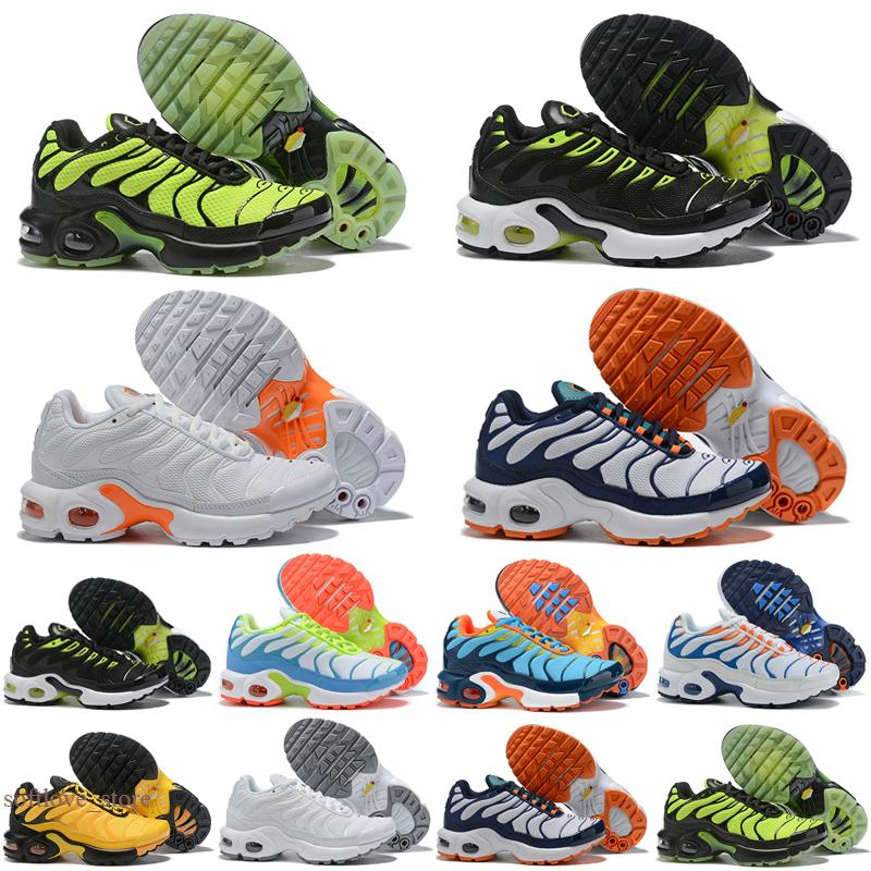 2021 Atacado Top Quality Classic Children's Shoes TN Boys Girls Sports Kids Shoes.