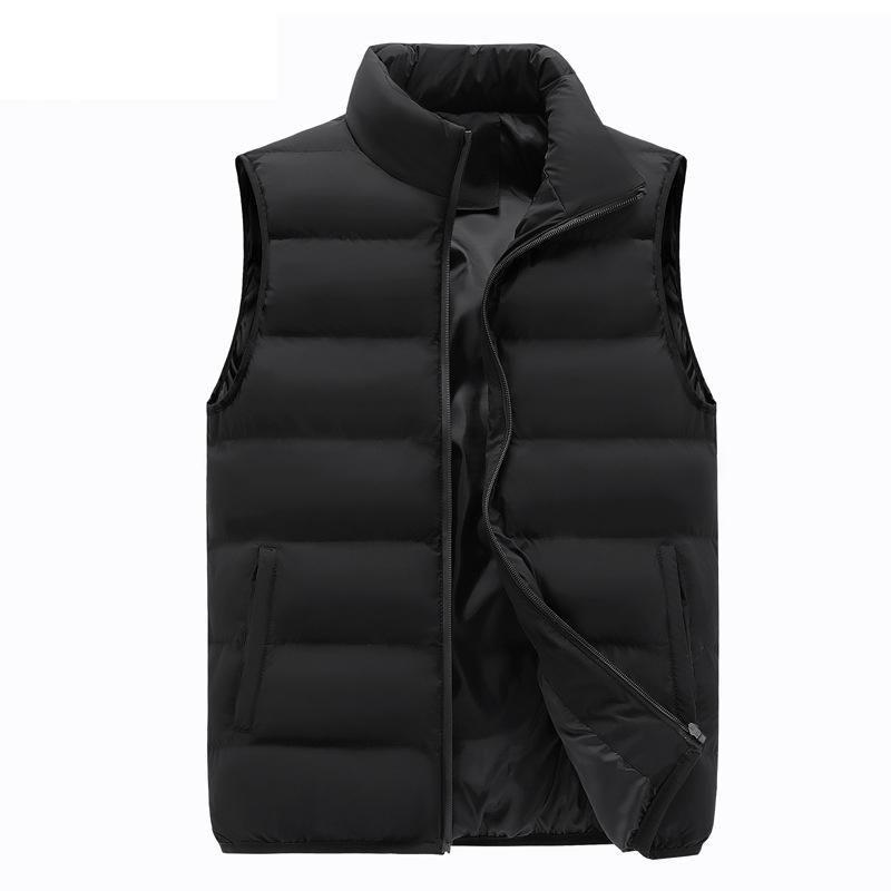 New Autumn Warm Vest Mens Jacket Sleeveless Jacket Male Winter Casual Waistcoat Men Vest Plus Size Veste Homme Brand Clothing