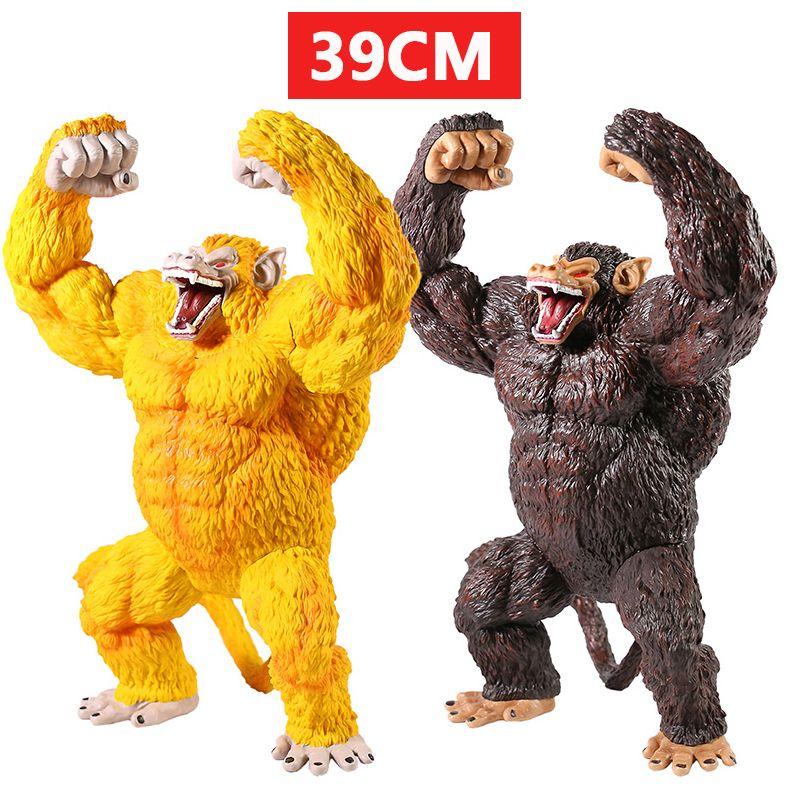 DBZ Super Saiyan Golden Ape Super Goku Anime Action Figure PVC Colección Modelo Juguete 201202